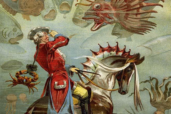 Baron Minhauzen, književni lik sinonim za laganje
