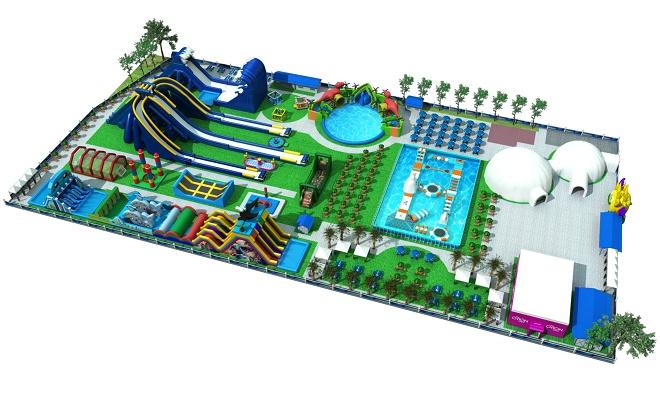Aqua fun Beograd (ilustracija)