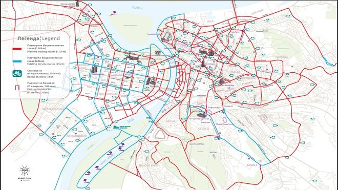 Biciklisti će voziti preko Slavije, oko Kalemegdana i kroz Knez Mihailovu