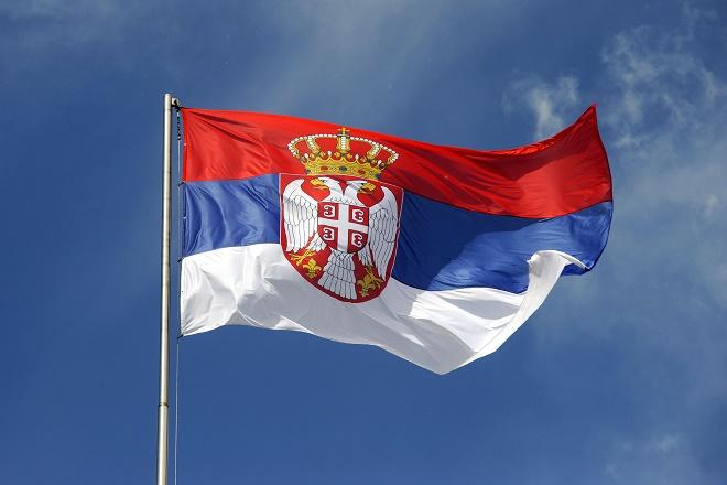 Budući Beograd: Jarbol sa srpskom zastavom na Ušću