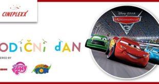 """Porodični dan uz animiranu avanturu """"Automobili 3"""""""