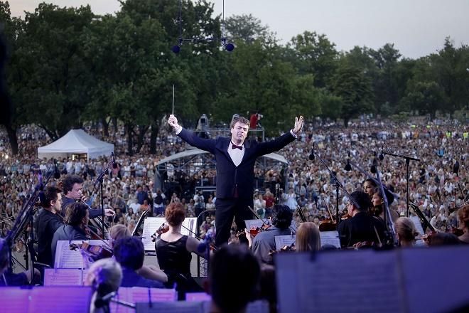 Beogradska filharmonija na otvorenom (foto: Marko Đoković)