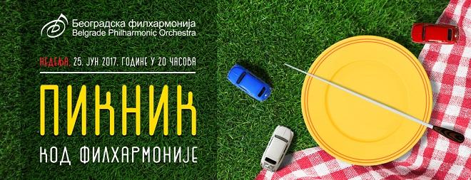 Sedam dana u Beogradu: Piknin kod Filharmonije