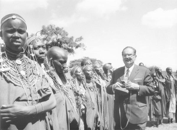 Kenija 1970: Predsednik Tito u časovima odmora u Kikoroku
