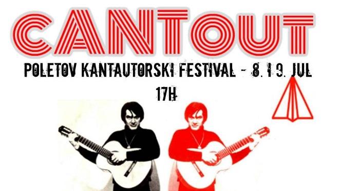 Kantautorski festival - CantOut 2017