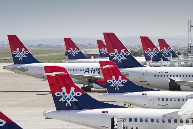 Air Serbia - flota