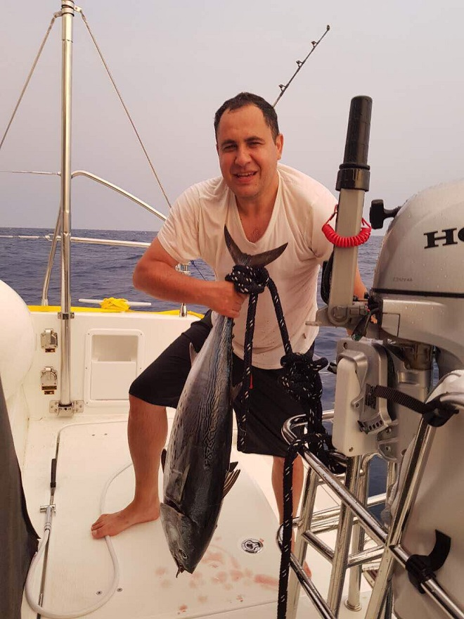 Daedalus Adventure -Bojan i tuna (foto: Damjan Vukićević)
