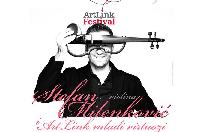 ArtLink festival, plakat za koncert Stefana Milenkovića