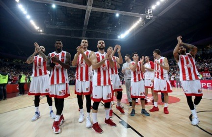 Evroliga: Crvena zvezda - CSKA u Areni