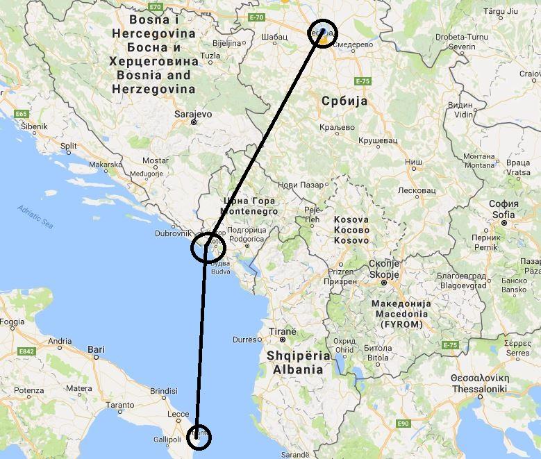 Daedalus Adventure - mapa