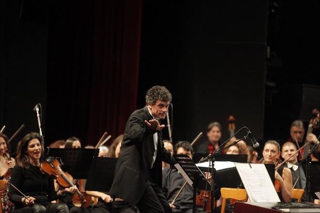 Beogradska filharmonija i Alan Bjelinski (foto: Marko Đoković)