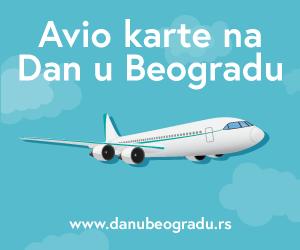 Avio karte - Dan u Beogradu - baner