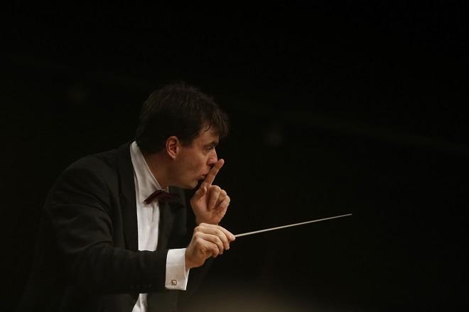 Beogradska filharmonija: Šef-dirigent Gabrijel Felc (foto: Marko Đoković)