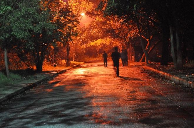 Zimski noćni polumaraton