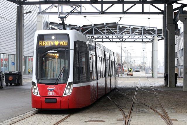 Beč - recycling-tramvaji