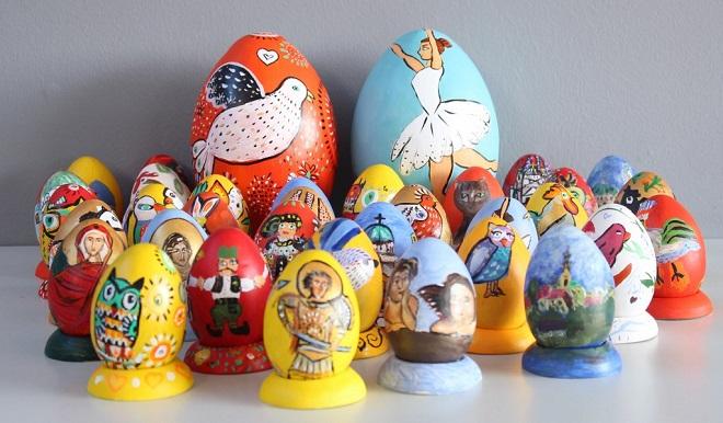 Humanitarna prodaja keramičkih uskršnjih jaja