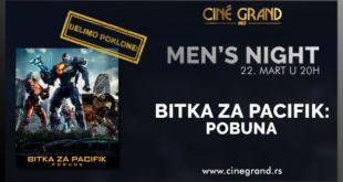 Bioskop Cine Grand: Men's Night - Bitka za Pacifik: Pobuna
