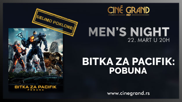 Bioskop Cine Grand: Men's Night - Bitka za Pacifik: Pobuna