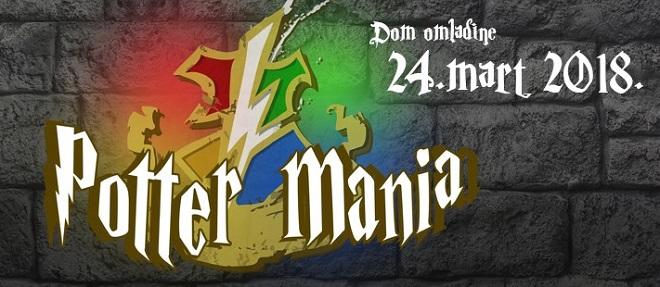 Poter manija 2018. u Domu omladine Beograda