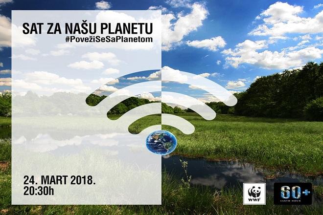 Earth Hour - Sat za našu planetu 2018 (foto: wwf.rs)