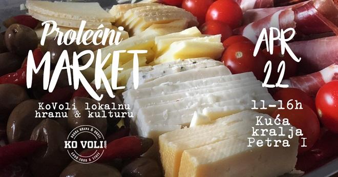 """Prolećni market """"KoVoli lokalnu hranu i kulturu"""""""