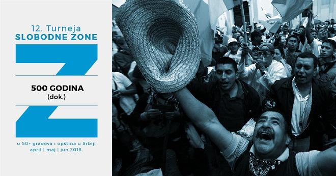 12. filmska Turneja Slobodne zone po Srbiji