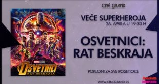 Bioskop Cine Grand: Veče superheroja