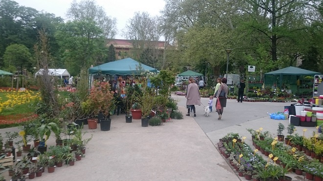 Prodajna izložba cveća Beogradsko proleće