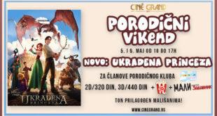 Porodični vikend u bioskopu Cine Grand