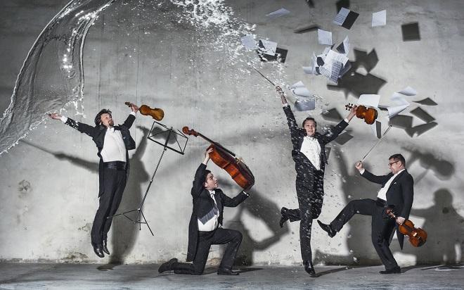 Kvartet Epoque (foto: J. Prerovsky)