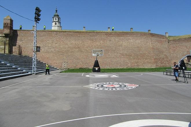 Final Four 2018: Košarkaški tereni na Kalemegdanu