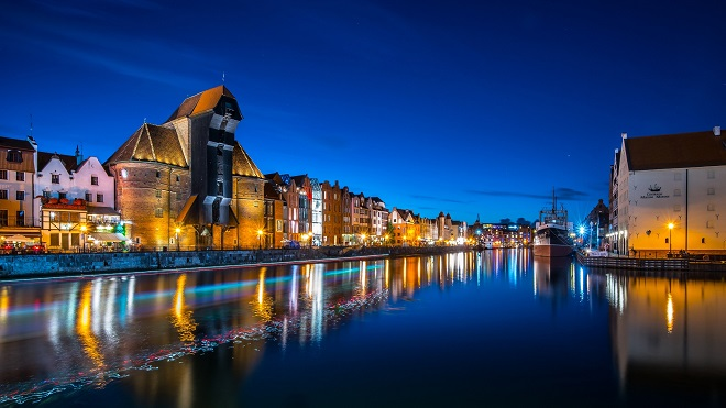 Nightlife: Gdansk in the Night - Renata Łacina, Poland