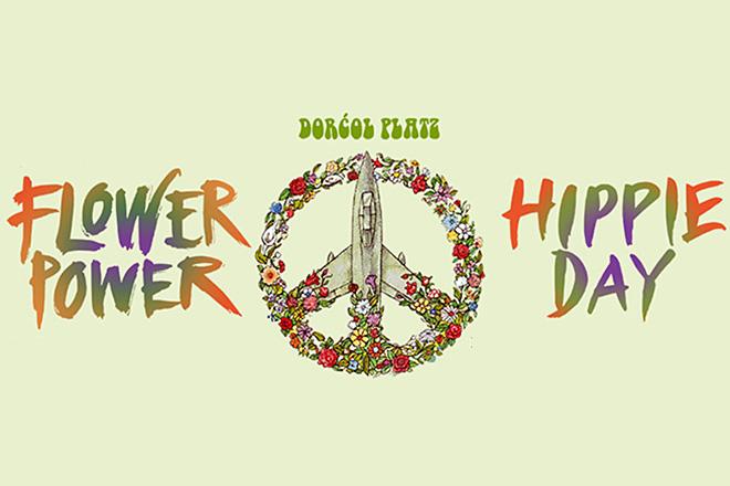Flower Power i Hippie Day - Make Love, Not War!