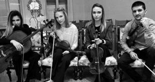 Kvartet Lumos - spremni za nastup u Gvarnerijusu