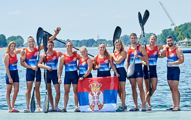 Evropsko prvenstvo u kajaku i kanuu: Reprezentativci Srbije
