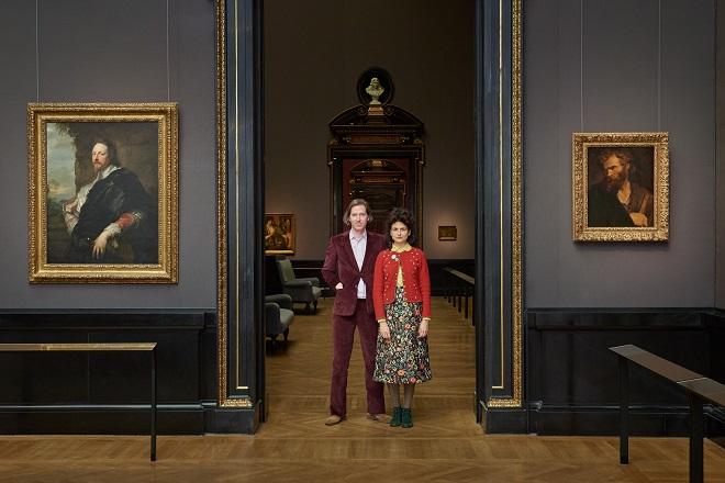 U Beču: Ves Anderson i Juman Maluf u Galeriji slika © KHM-Museumsverband