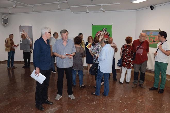 Izložbe u Beogradu - jun 2018: Galerija '73 - Radovi Miodraga Rogića