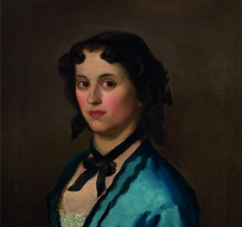 Narodni muzej u Beogradu - Devojka u plavom