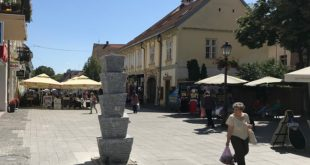 Nova fontana i česma u centru Zemuna