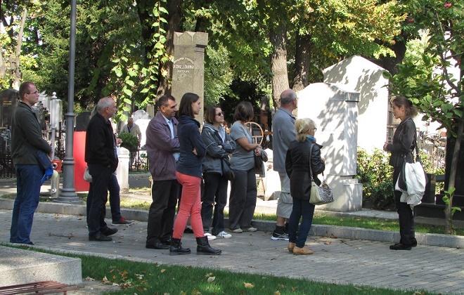 Novo groblje: Besplatna šetnja