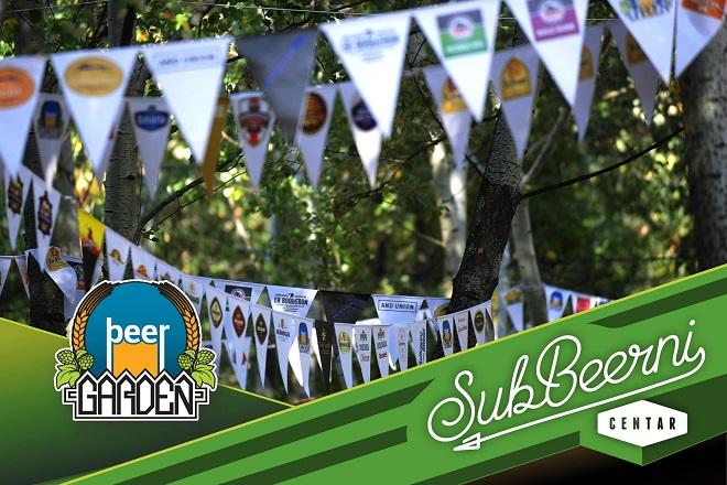 SubBeeranje na Beer Garden-u