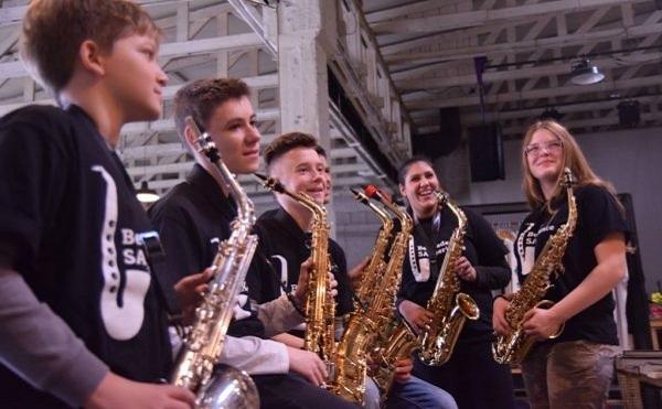 Svetski dan muzike: Banda saksofonista