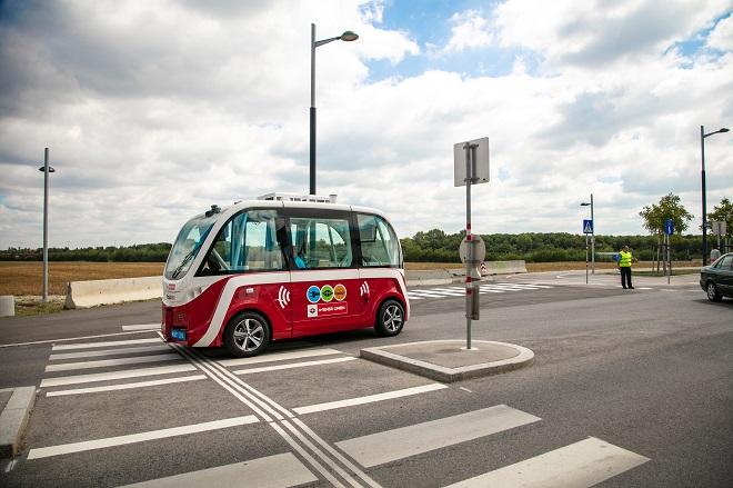 Beč: auto.Bus - Vožnja bez vozača (foto: WienerLinien)