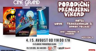 Bioskop Cine Grand: Porodični vikend