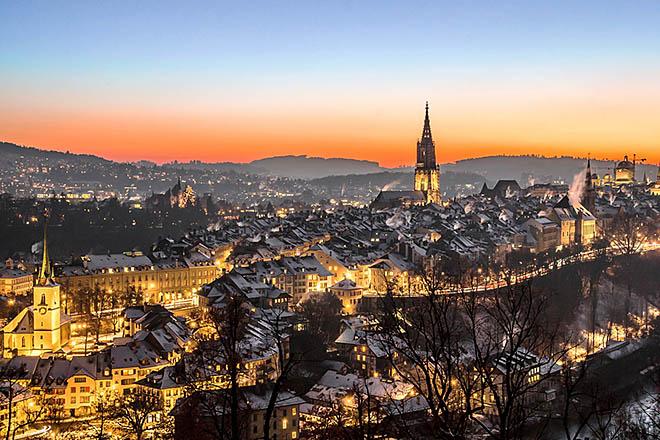 Švajcarska, federalni grad Bern