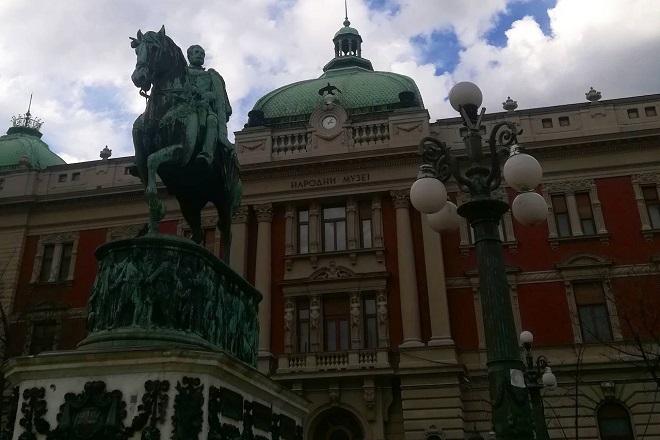 Rekonstrukcija Trga republike (foto: Dan u Beogradu)