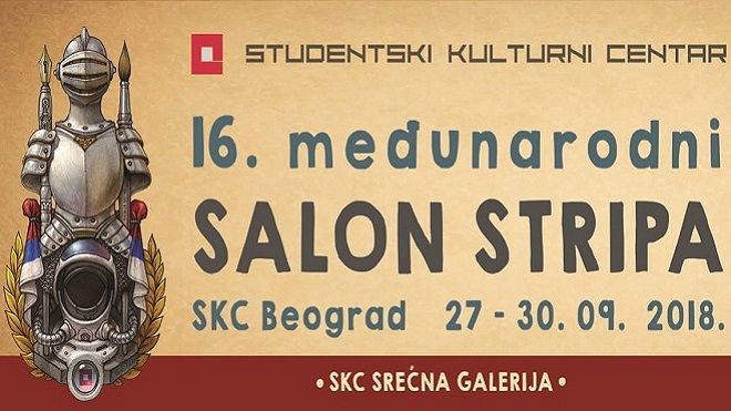 Skc 16 Međunarodni Salon Stripa Dan U Beogradu