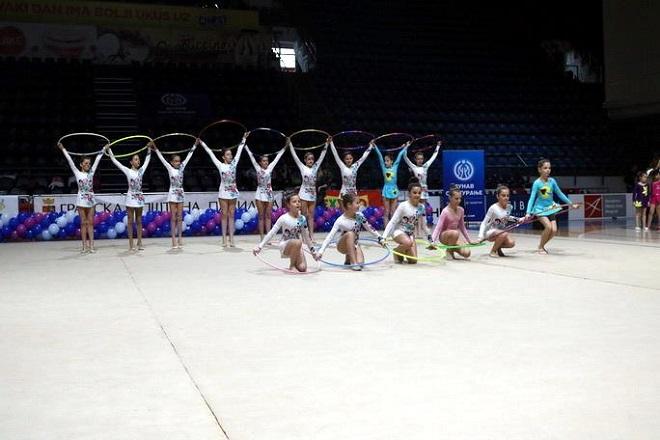 Dečiji letnji Palilula kup u ritmičkoj gimnastici