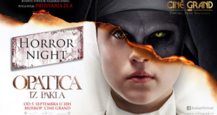 Horror Night u bioskopu Cine Grand: Opatica iz pakla