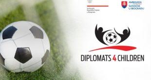"Humanitarni fudbalski turnir ""Diplomats 4 Children"""
